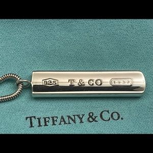 Tiffany & Co. 1837 Plate Pendant Necklace